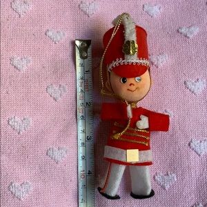 "4.5"" marching band soldier vintage tree ornament"